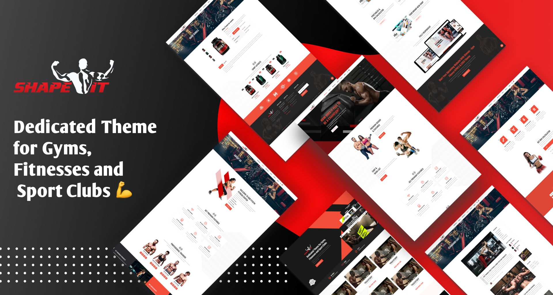 Gym Template Our Screen Images