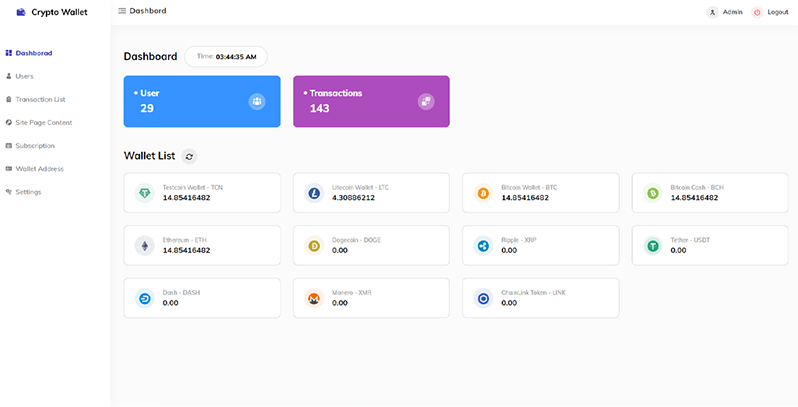 Cryptowallet Screenshot Images Four